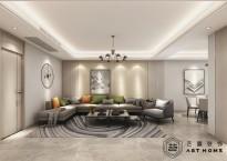 香园东苑140m²现代风格
