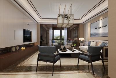 南京别墅800m²新中风格