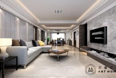 龙泊湾240m²现代风格